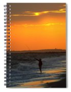 October Fishing Spiral Notebook