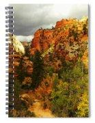October In Zion Spiral Notebook