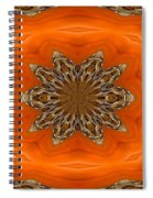 October Pattern Spiral Notebook