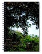October Rain Spiral Notebook