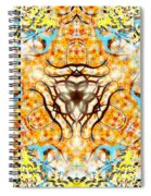 October Snow Spiral Notebook