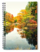Octobers Paintbrush Spiral Notebook