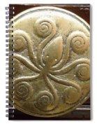 Octopus Door Knob Spiral Notebook