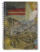 Odalisque Spiral Notebook