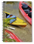 Odd Boat Out Spiral Notebook