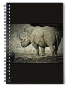 Odd-toed Rhino Spiral Notebook