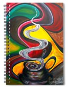 Ode To Coffee... Spiral Notebook