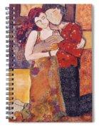 Ode To Klimt Spiral Notebook