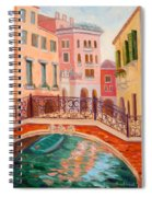 Ode To Venice Spiral Notebook