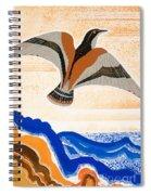 Odyssey Illustration  Bird Of Potent Spiral Notebook
