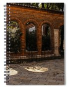 Of Courtyards And Elegant Arches  Spiral Notebook
