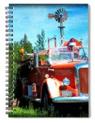 Of Days Gone By Spiral Notebook