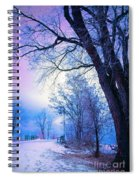 Of Dreams And Winter Spiral Notebook