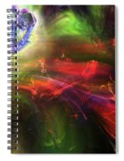 Of Frogs And Flowers Spiral Notebook