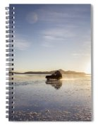 Off Road Uyuni Salt Flat Tour Spiral Notebook