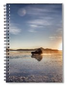 Off Road Uyuni Salt Flat Tour Select Focus Spiral Notebook
