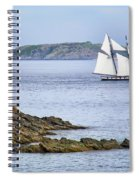 Off Saint-malo Spiral Notebook