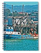 Off Shore Fishing Spiral Notebook