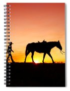 Off To The Barn Spiral Notebook