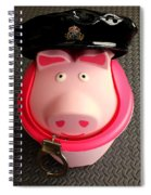 Officer Bacon Wants A Doughnut Spiral Notebook