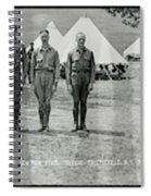 Officers At Camp Newayo, New York State Spiral Notebook