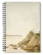 Offshore Rocks Oregon Coast Spiral Notebook