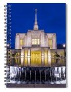 Ogden Temple II Spiral Notebook