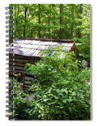 Ogle Tub Mill Roaring Fork Smoky Mountains Spiral Notebook
