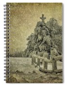 Oh Christmas Tree In Snow Spiral Notebook