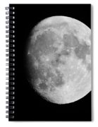 Oh La Moon Spiral Notebook
