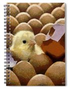 Oh No   It's Easter Spiral Notebook
