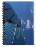 Oh So Blue - Downtown Toronto Skyscrapers Spiral Notebook