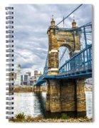 Ohio River Bridge Spiral Notebook