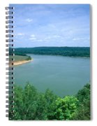Ohio River Spiral Notebook