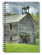 Ohio Schoolhouse Spiral Notebook