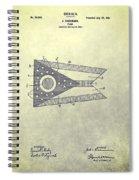 Ohio State Flag Design Spiral Notebook