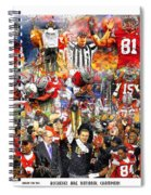 Ohio State National Champions 2015 Spiral Notebook