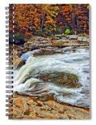 Ohiopyle Falls 2 Spiral Notebook