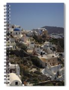 Oia By Day Spiral Notebook