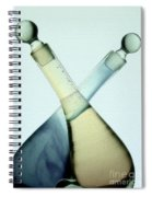 Oil And Vinegar Abstract Spiral Notebook
