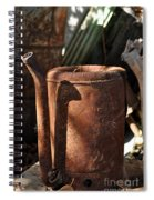 Oil Can Picking Spiral Notebook