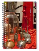 Oil Cans Spiral Notebook