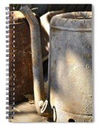 Oil Cans Picking Spiral Notebook