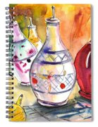 Oil Dispensers From Taormina Spiral Notebook