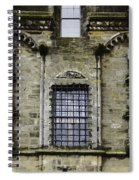 Oil Painting - Renaissance Styled Statues On Royal Palace In Stirling Castle Spiral Notebook