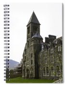 Oil Painting - Repair Of The Benedictine Abbey At Fort Augustus Now Apartments Spiral Notebook