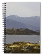 Oil Painting - Rugged Shoreline And Waters Of A Loch In The Scottish Highlands Spiral Notebook