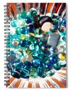 Oil Painting - Shine All Around Spiral Notebook