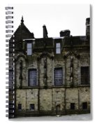 Oil Painting - The Royal Palace Inside Stirling Castle In Scotland Spiral Notebook