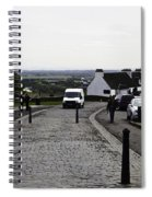 Oil Painting - Van Approaching The Entrance Of The Stirling Castle In Scotland Spiral Notebook